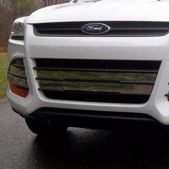 Ford Escape 2014 Custom >> 2014 Ford Escape Custom Grilles Billet Mesh Led Chrome Black