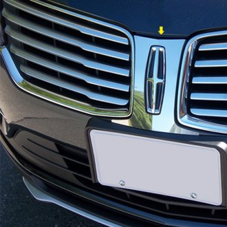 SAA® - 1-Pc Polished Bumper Grille Surround Accent Trim