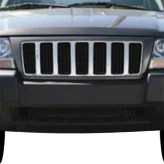 2000 jeep grand cherokee custom grilles | billet, mesh ... 2000 grand cherokee grille diagram