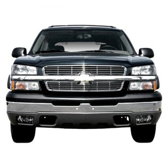 SAA® - 2-Pc Chrome Billet Main Grille