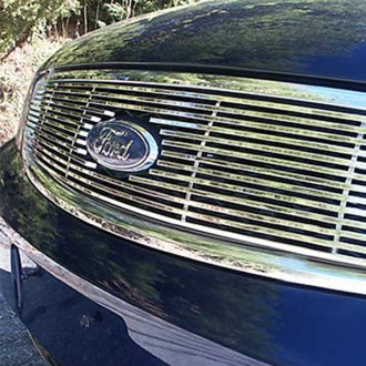 SAA® - 1-Pc Chrome Billet Main Grille