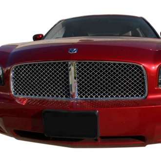 SAA® - 1-Pc Bentley Style Chrome Mesh Main Grille