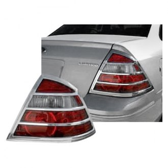 SAA® - Custom Chrome Tail Light Bezels