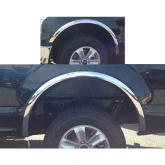 ICI FOR-046 Fender Trim Stainless Steel Full Fit for 1997-2003 F150 Flareside