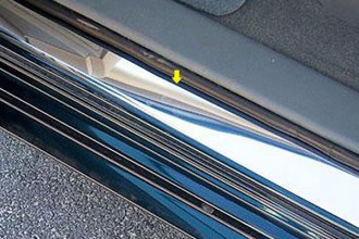 SAA® - Brushed Door Sill Covers