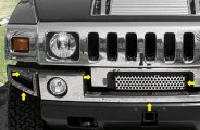 SAA® HV43009 - Front Bumper Cover (With Z