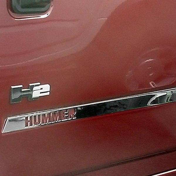 Saa Hummer H2 2003 2009 Door Insert Trim