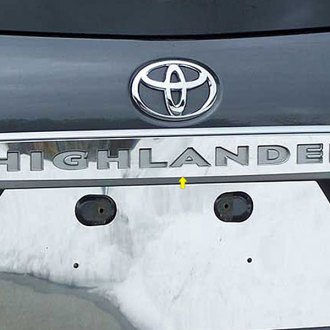 SAA® - Polished License Plate Bar Trim