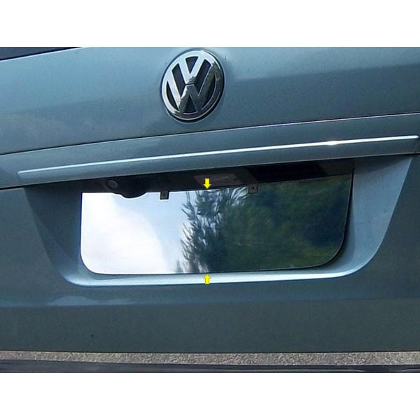 SAA® - Polished License Plate Trim