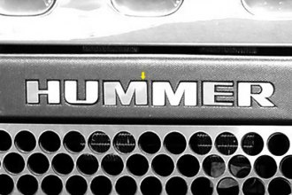 SAA® - Front Insert Hummer Lettering