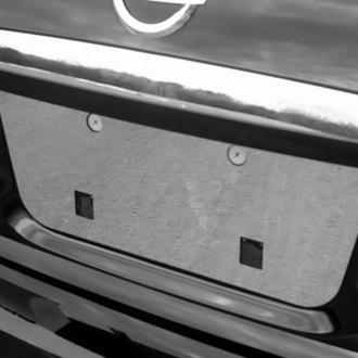 Saa Polished License Plate Trim