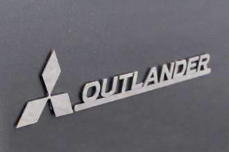 SAA® - Stainless Steel Emblem with Logo and Outlander Lettering