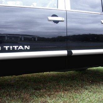 2006 Nissan Titan Chrome Body Side Moldings Carid Com