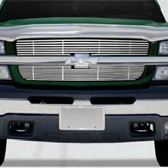 SAA® - 2-Pc Chrome Main Billet Grille