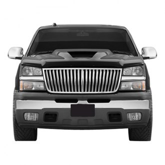 SAA® - 1-Pc Chrome Vertical Billet Grille