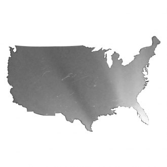 SAA® - Stainless Steel Decal with United States Outline