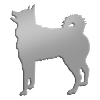 SAA® - Stainless Steel Decal with Husky Dog