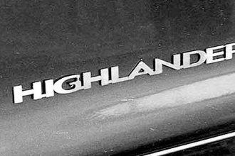 SAA® - Stainless Steel Emblem with Highlander Lettering