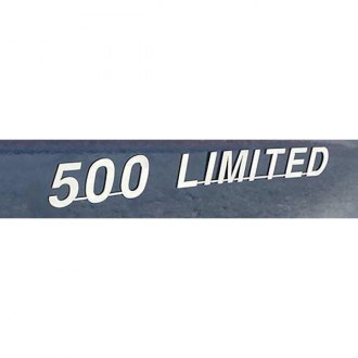SAA® - Polished Stainless Steel Emblem with 500 Limited Lettering