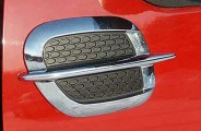 SAA® - Chrome / Black Side Vent Trim