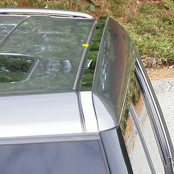 Image may not reflect your exact vehicle! SAA® - Roof Insert Trim