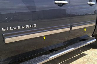 "SAA® TH49184 - ""I-Type"" Rocker Panel Trim (Crew Cab)"