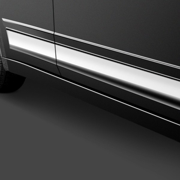 "Image may not reflect your exact vehicle! SAA® - ""O-Type"" Rocker Panel Trim"