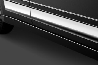 SAA® - Polished L-Type Rocker Panel Covers Image may not reflect your exact vehicle!