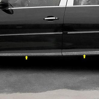 SAA® - L-Type Polished Rocker Panel Covers