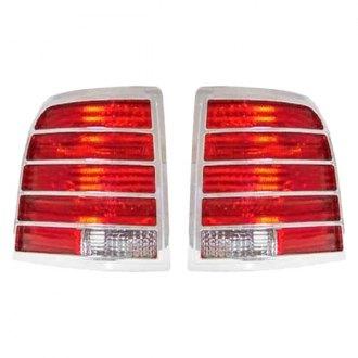 Saa Chrome Tail Light Bezels