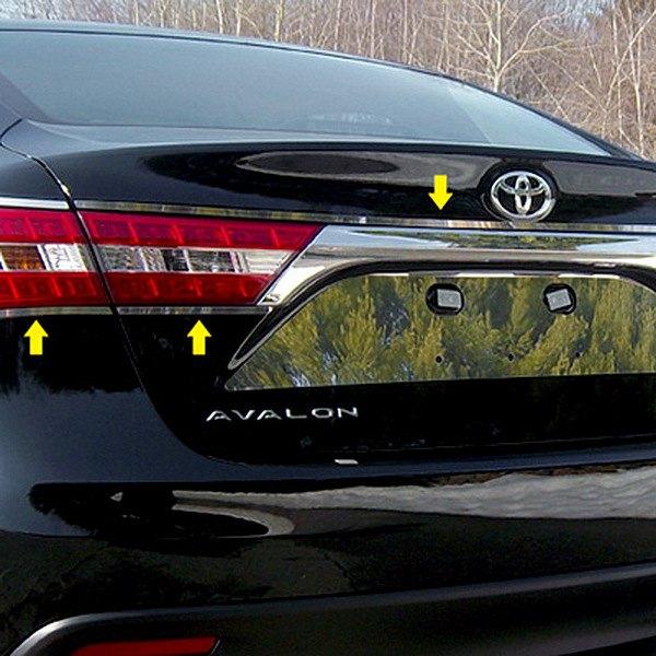 2013 Toyota Avalon Exterior: Toyota Avalon 2013 Polished Tail Light