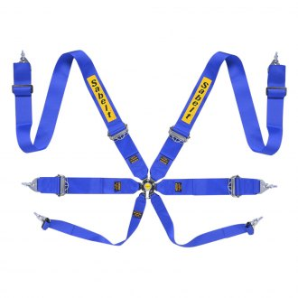 "Sabelt® - 6-Points Saloon Series Harness Set, 3"" Shoulder Straps, 3"" Lap Straps"