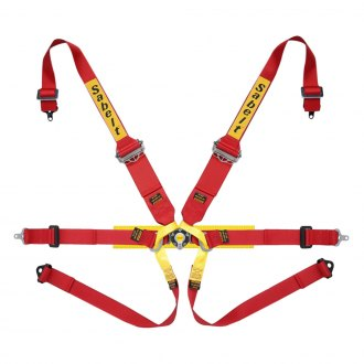 "Sabelt® - 6-Points Formula Series Harness Set, 3/2"" Shoulder Straps, 2"" Lap Straps, Pull Up Lap Adjustment"