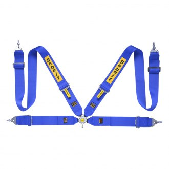 "Sabelt® - 4-Points Saloon Series Harness Set, Steel Adjuster, 3"" Shoulder Straps, 3"" Lap Straps"