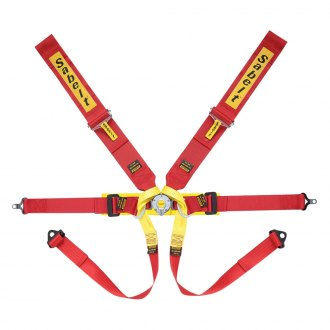 "Sabelt® - 6-Points Formula Series Harness Set, 3"" Shoulder Straps, 2"" Lap Straps, Pull Down Lap Adjustment"