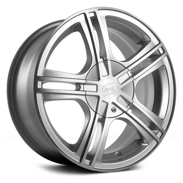 SACCHI® - S62 Hyper Silver with Machined Face