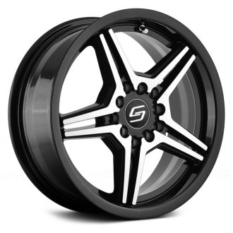 SACCHI® - S73 Black with Machined Face