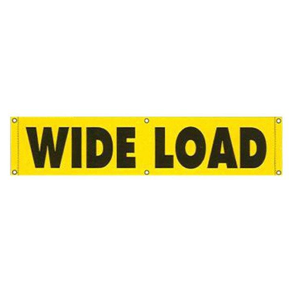 Safetruck 174 Cv100 Wide Load Vinyl Banner
