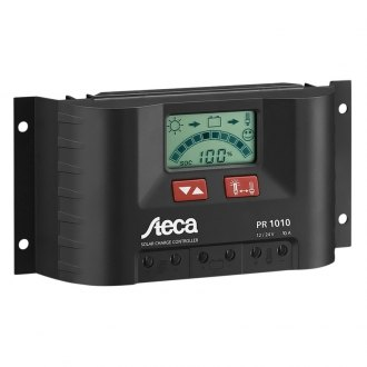 Samlex® - Steca PR Series Solar Charge Controller with LCD Display (12V/24V, 10 Amp)
