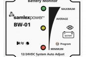 Samlex® - Intelligence Programmable Battery Monitor