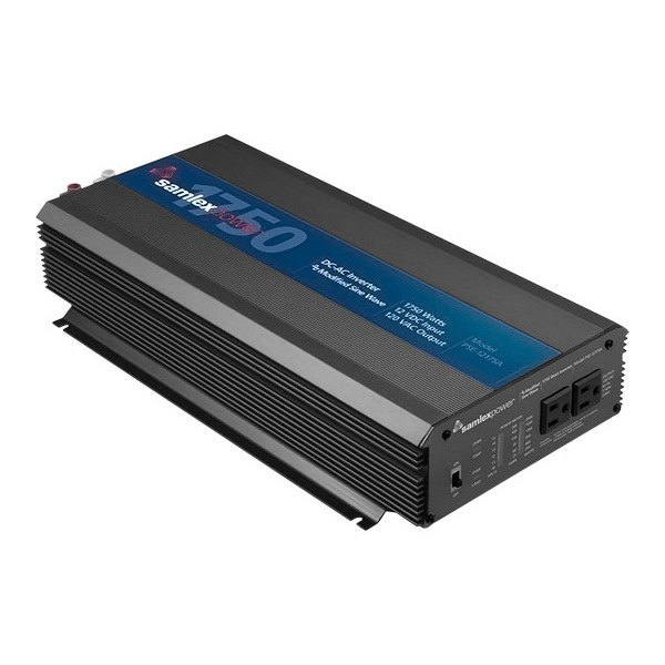 Samlex® - PSE Series Modified Sine Wave Power Inverter (Input: 12 VDC, Output: 120 VAC, 1750W)