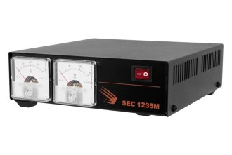 Samlex® - AC-DC Desktop Switching Power Supply with Displays (120 VAC, 13.8 VDC, 30 Amp)
