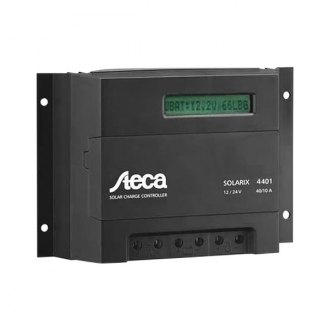 Samlex® - Steca Solarix Solar Charge Controller with LCD Display (48V, 40 Amp/10 Amp)