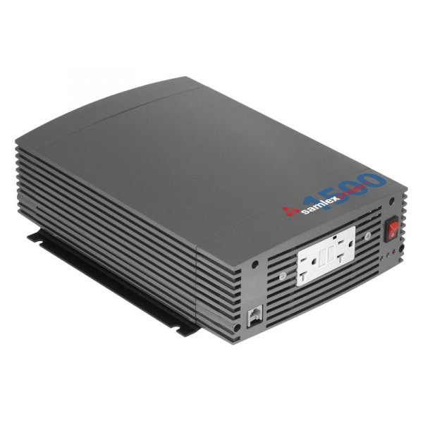 samlex ssw 1500 12a ssw series dc ac 1500w pure sine wave inverter with lcd display remote. Black Bedroom Furniture Sets. Home Design Ideas