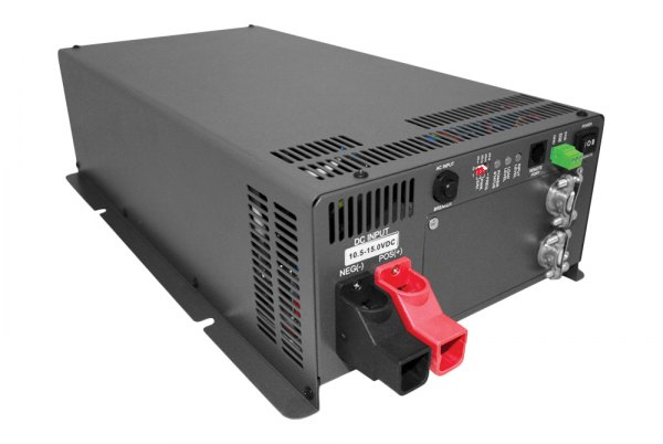 Samlex® - Pure Sine Wave Inverter with Transfer Switch (Input: 24 VDC, Output: 120 VAC, 1500W, 30 Amp Switch and 16 Amp Circuit Breaker)