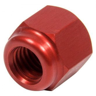 Sander Engineering® - Red Anodize Open End Lug Nut