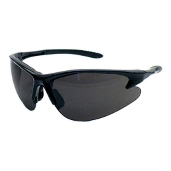 Safety Glasses Black Frame : SAS Safety - DB2 Safety Glasses Black Frame