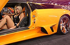 SAVINI® - SV-29 Custom Painted on Lamborghini Murcielago