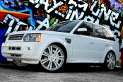 SAVINI® - SV-24S Custom Painted on Land Rover Range Rover Sport