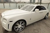 SAVINI® - SV-24S Custom Painted on Rolls Royce Ghost